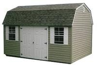 Lofted Garden Shed Vinyl